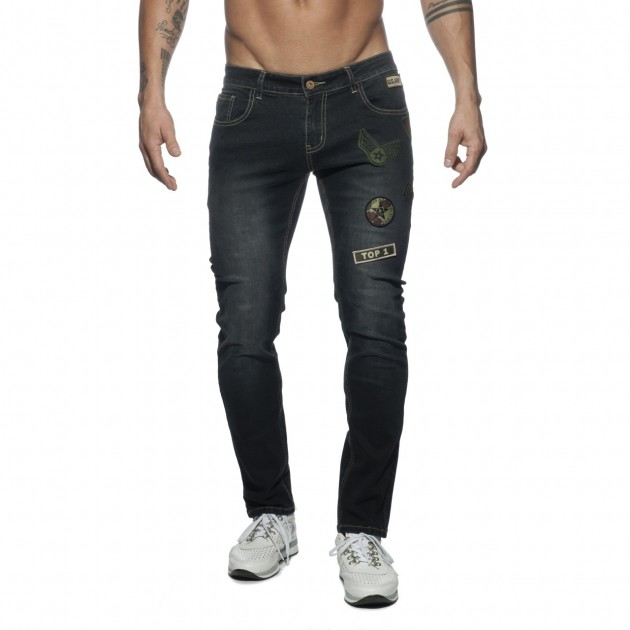 AD749 PATCHES JEANS