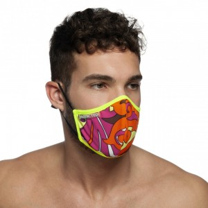 AC093 FLAMES MASK