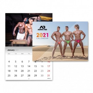 AC132 AD ADDICTED 2021 CALENDAR