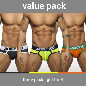 AD402P 3 PACK LIGHT BRIEF