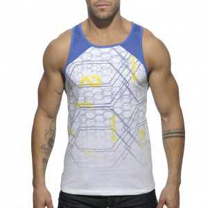 AD487 GEOMETRIX TANK TOP