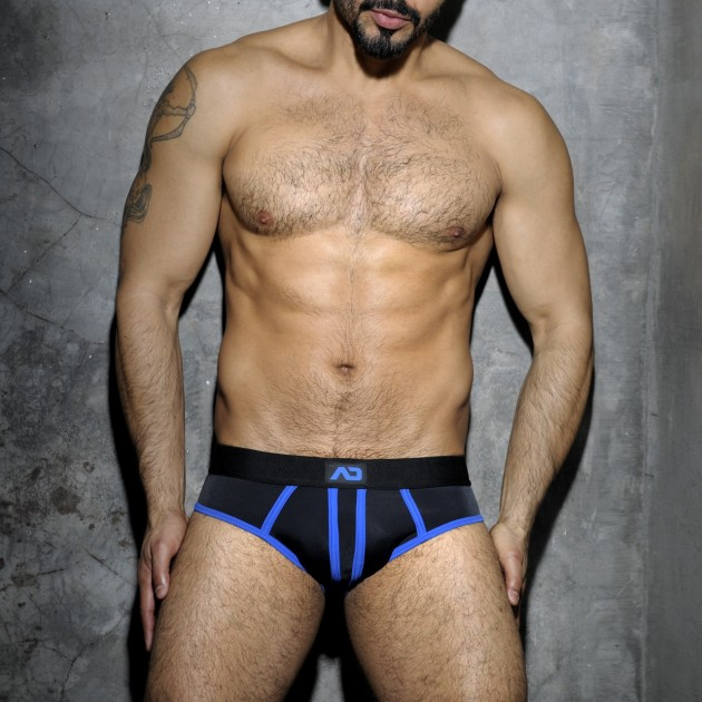 ADF11 STRIPE FETISH BRIEF
