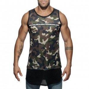 AD634 ADDICTED ORIGINAL TANK TOP